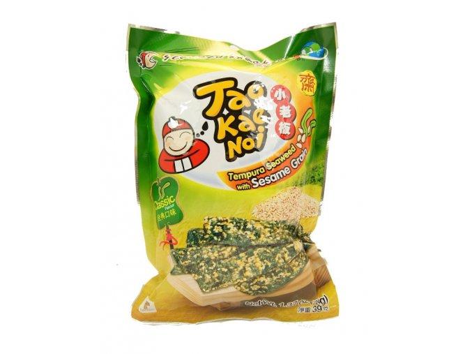 TaoKaeNoi Tempura Seaweed sesame 39g