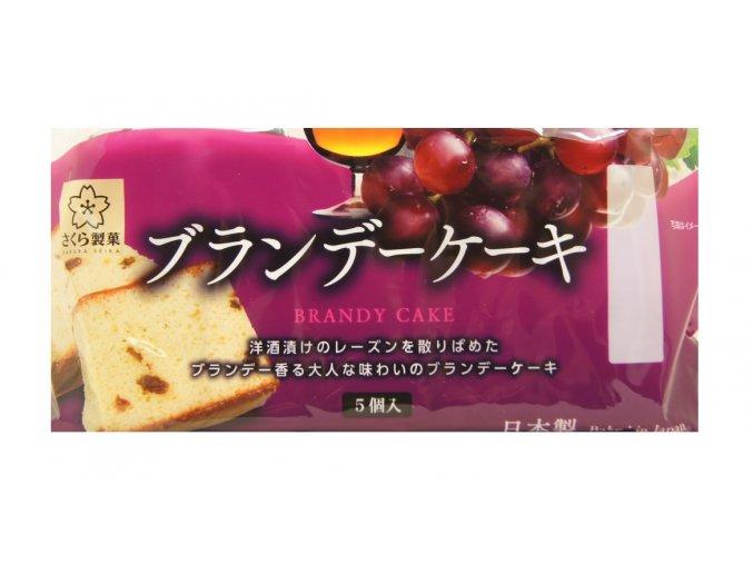 Sakura Seika Brandy Cake 5p