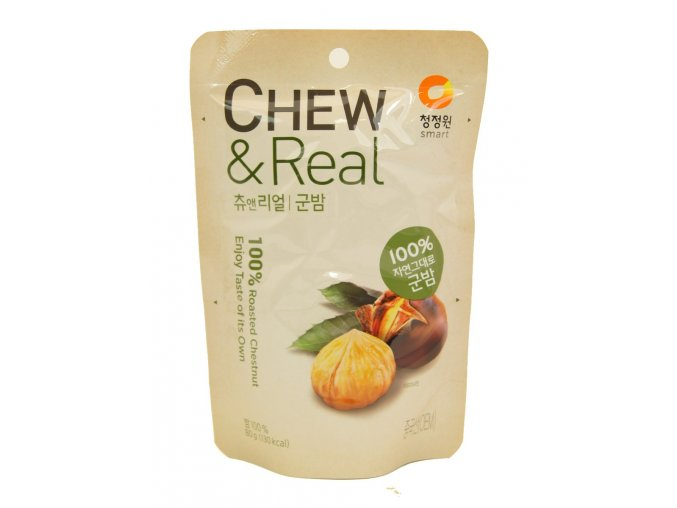 Smart Chew & Real Roasted Chestnut 80g