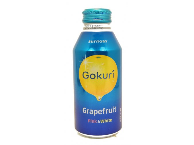 Suntory Gokuri Grapefruit Pink & White 400ml