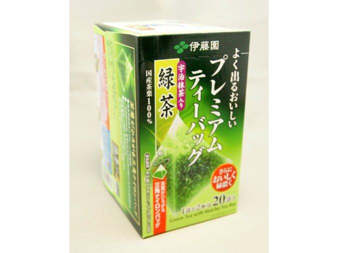 Itoen Yoku Deru Premium Tea Matcha 36g - prošlé datum minimální trvanlivosti