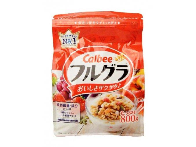 Calbee Fruits Granola 800g