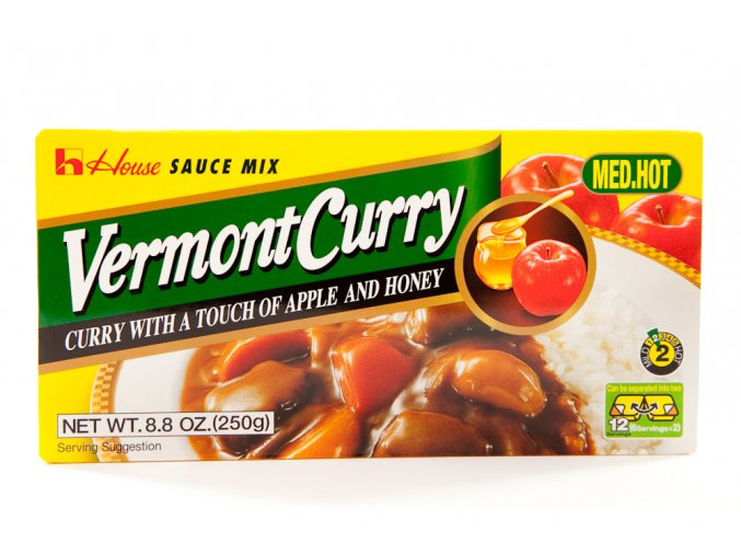 House Foods Vermont Curry Medium Hot  230g