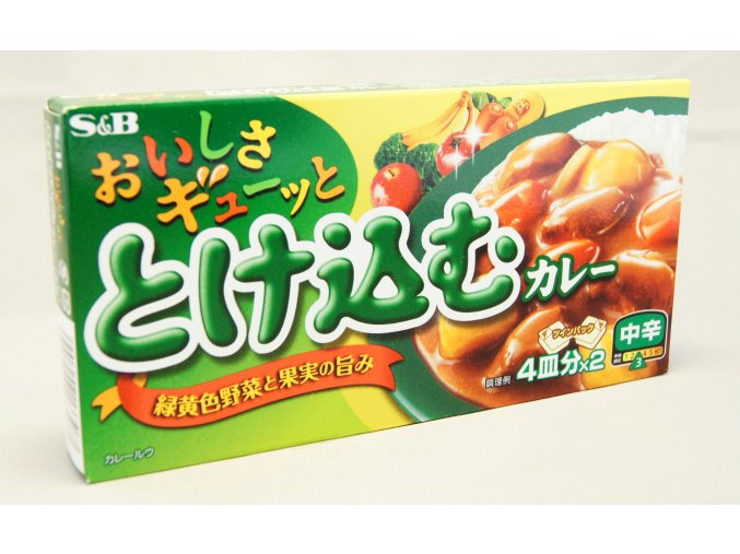 S&B Tokekomu Chukara Curry ( Medium hot ) 140g