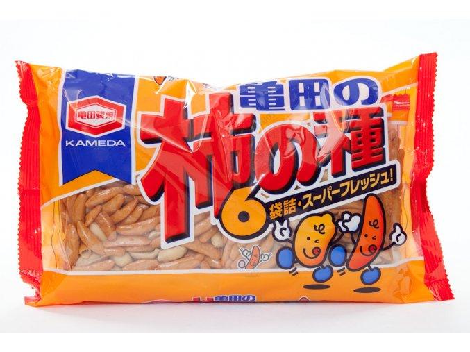 Kameda Kaki no Tane rýžové krekry 210g