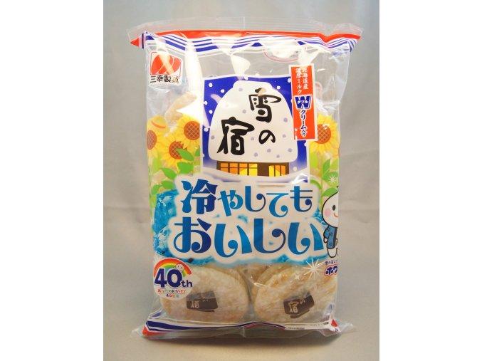 Sankoseika Yuki no Yado Salad rýžové krekry 175g
