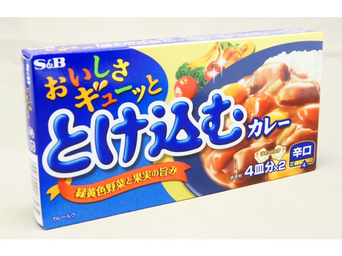 S&B Tokekomu Karakuchi Curry ( Hot )