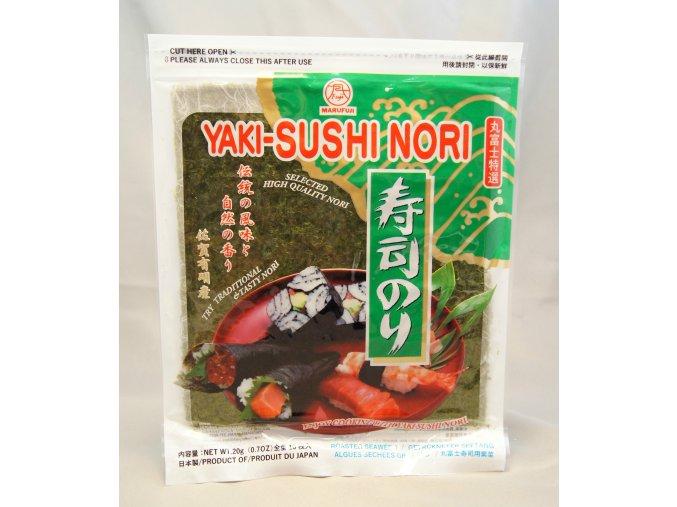 Marufuji Yaki Sushi Nori Green10p