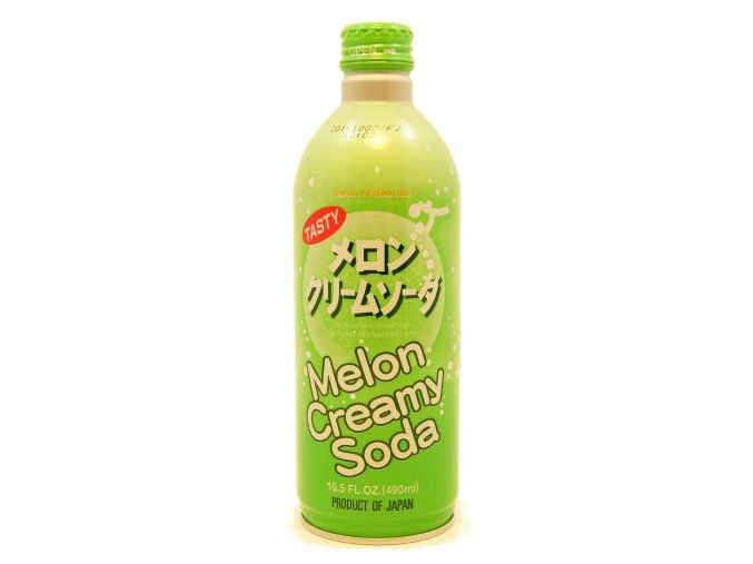 Maroyaka Melon Cream Soda 490ml
