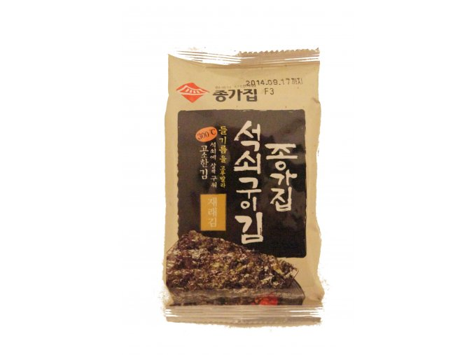 Chongga Traditional Laver pražené mořské řasy 4g