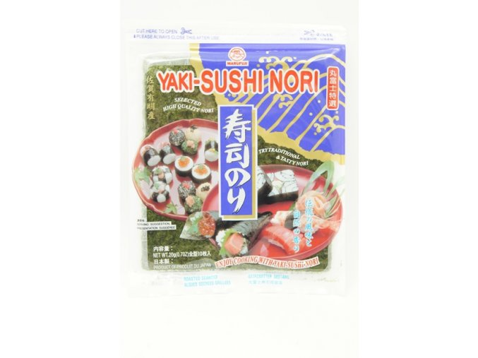 Marufuji Yaki Sushi Nori Murasaki 10p