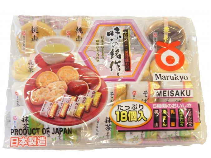 Marukyo Aji no Meisaku japonské cukroví 250g