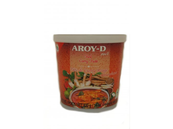 Aroy-D Red Curry Paste 400g
