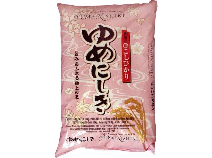 Yume Nishiki rýže na sushi 10kg