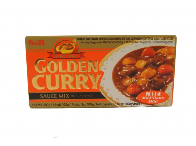 S&B Golden Curry Mild 92g