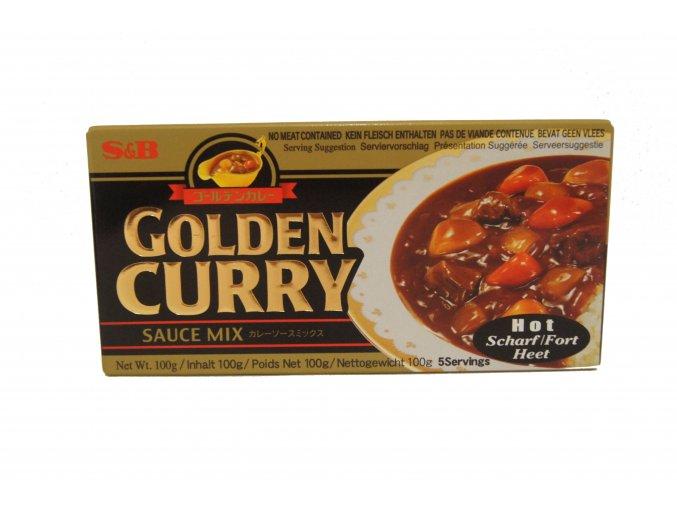 S&B Golden Curry Hot 100g