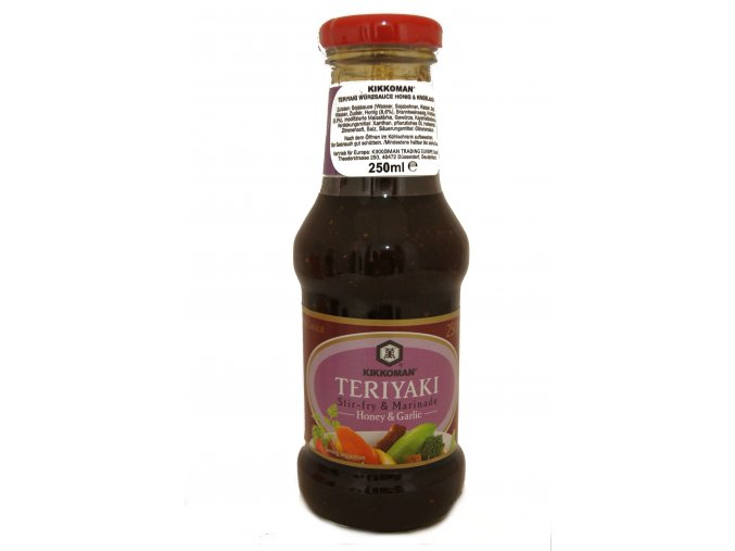 Kikkoman Teriyaki Stir-fry Honey and Garlic Sauce 250ml