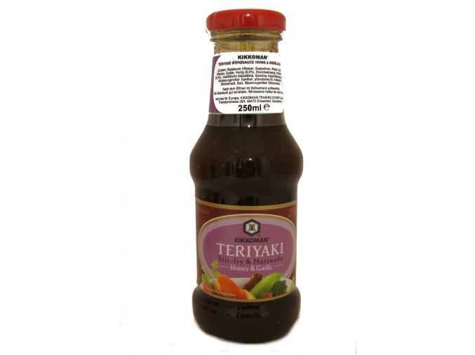 Kikkoman Teriyaki Stir-fry Honey and Garlic Sauce 250ml
