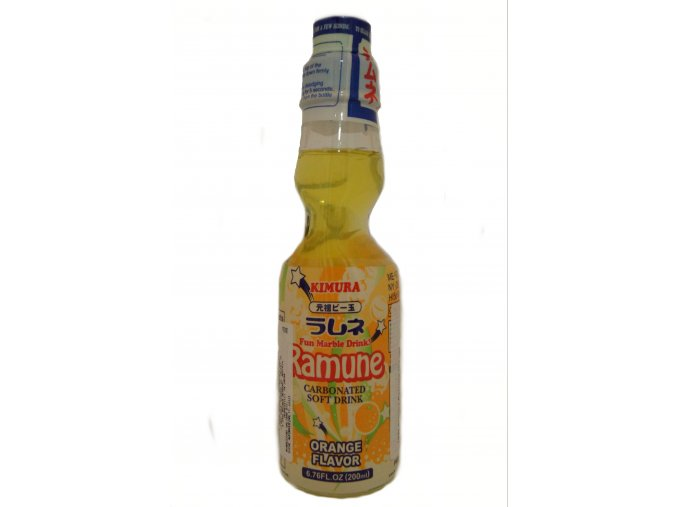 Kimura Ramune Orange 200 ml