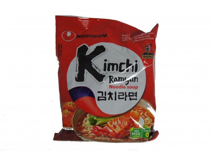 Nong Shim Kimchi Ramen instatntní polévka 120g