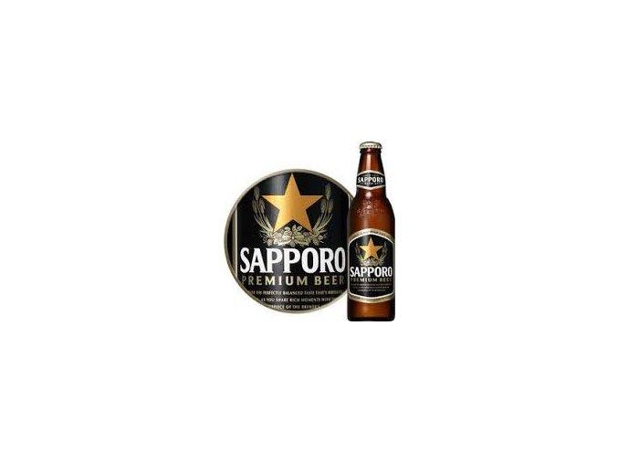 Sapporo Premium Beer Bottle 330ml