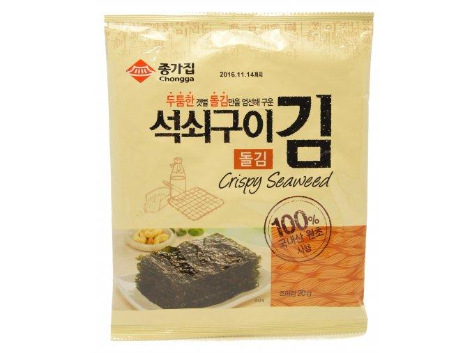 Chongga Crispy Dried Laver pražené mořské řasy 20g
