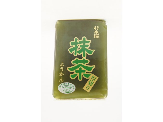 Sugimotoya Atsugiri Yokan Matcha japonské želé 150g