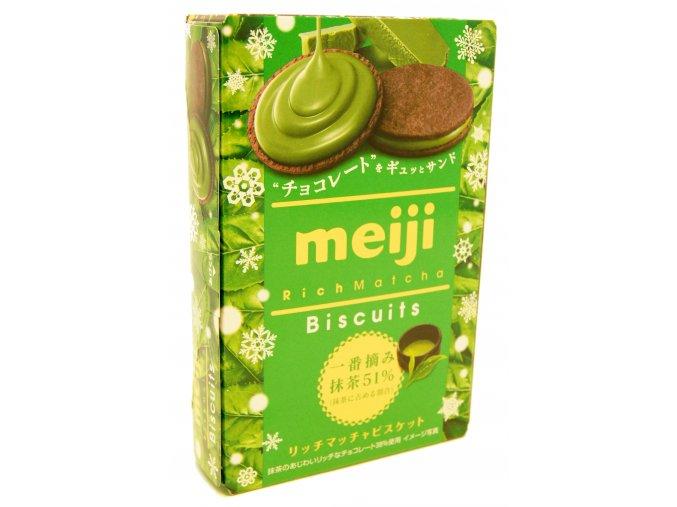 Meiji Rich Matcha Biscuit