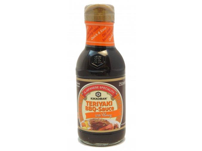 Kikkoman Teriyaki BBQ Sauce with Honey 250ml