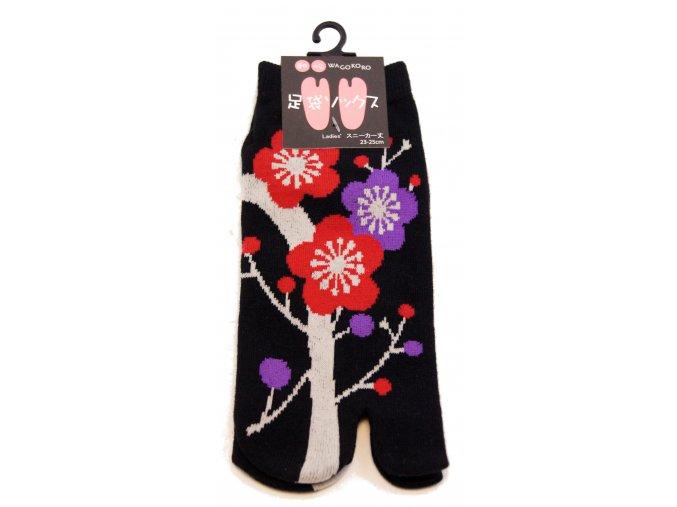 Wagokoro Japonské tradiční ponožky ( dámské )