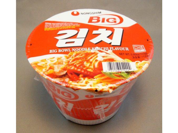 Nong Shim Big Bowl Noodle Kimchi instantní polévka 112g