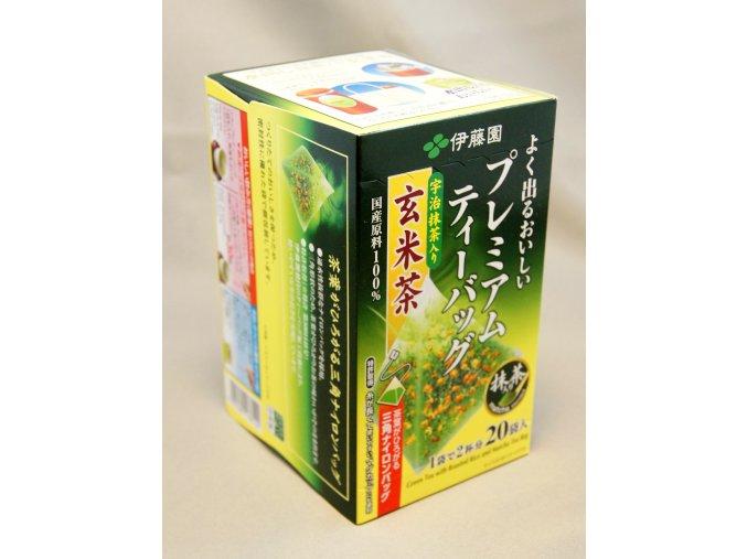 Itoen Yoku Deru Matcha iri Genmaicha zelený čaj 46g