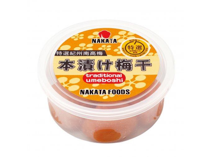 Nakata Tokusen Kishu Nankobai Hatchimitsu Umeboshi nakládané švestky 100g