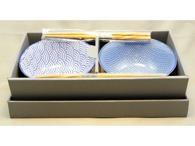 Fuji Nippon Blue Bowls