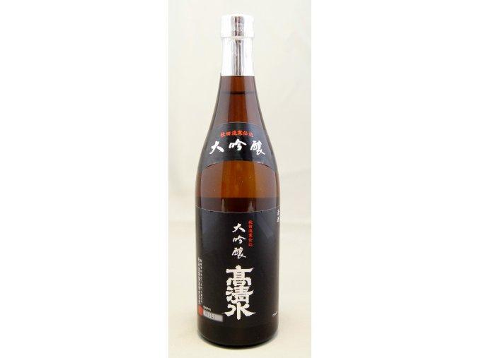 Takashimizu Daiginjo Sake 720ml