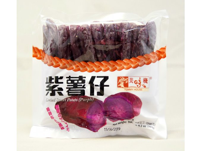 Yummy House Dried Sweet Potato Purple 260g