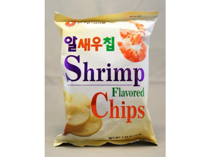 Nong Shim Shrimp Flavoured Chips 55g