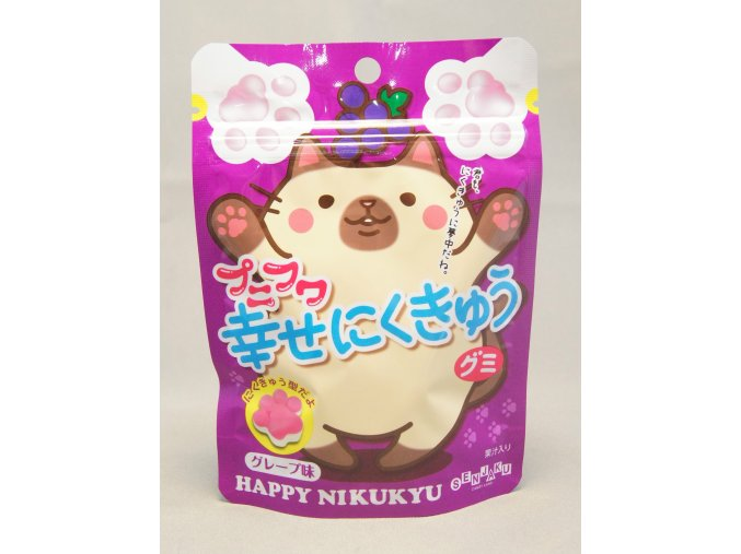 Senjaku Punifuma Grape Gummy 57g