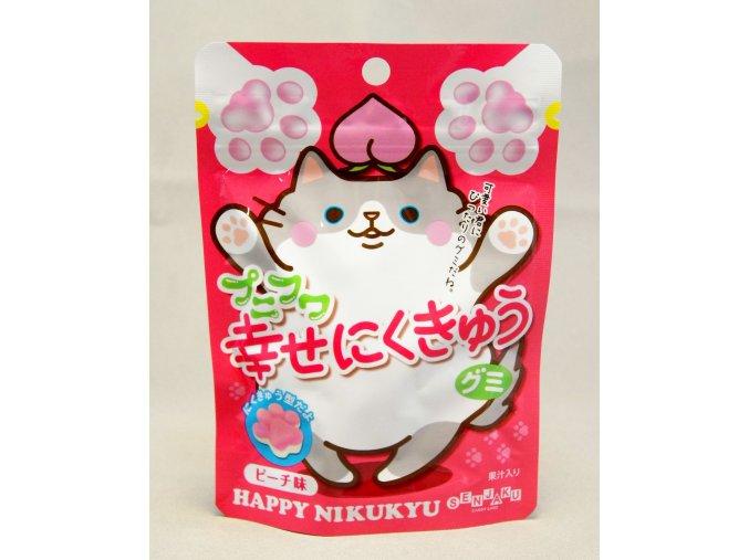 Senjaku Punifuma Peach Gummy 57g