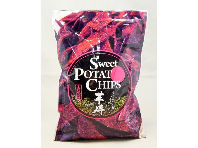 Satsuma Foods Sweet Potat Chips 120g