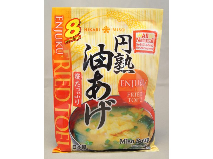 Hikari Instant Miso Soup Enjuku Fried Tofu  8p