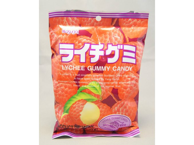 Kasugai Lychee Gummy 108g