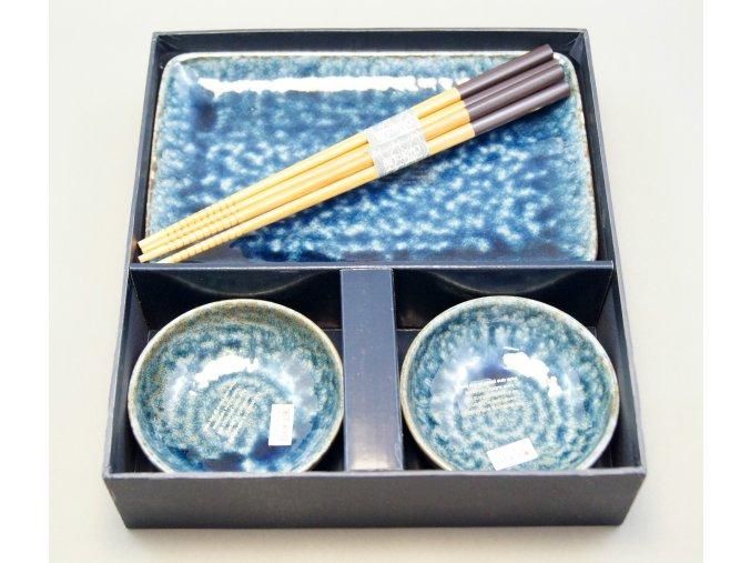 Tokyo set na sushi tmavě modrý kámen ( 16096 )