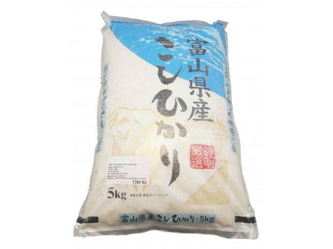 Toyama Koshihikari Rice 5 kg