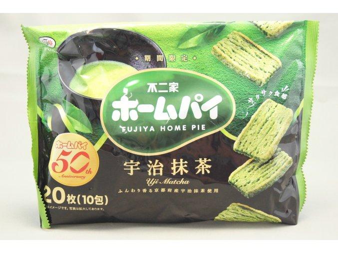 Fujiya Home Pie Uji Matcha 116g
