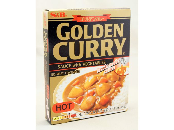 S&B Golden Curry Hot Ready-made Sauce