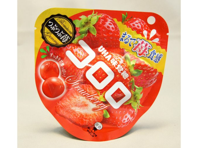 UHA Mikakuto Kororo Strawberry Gummy 40g