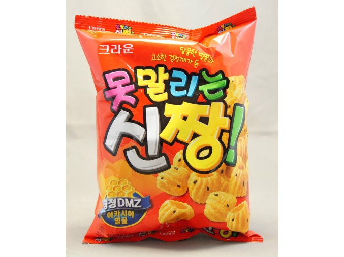 Crown Shinzzang Honey snack 120g