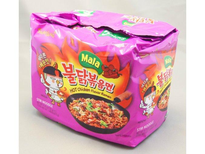 SamYang Mala Hot Chicken Ramen 5p