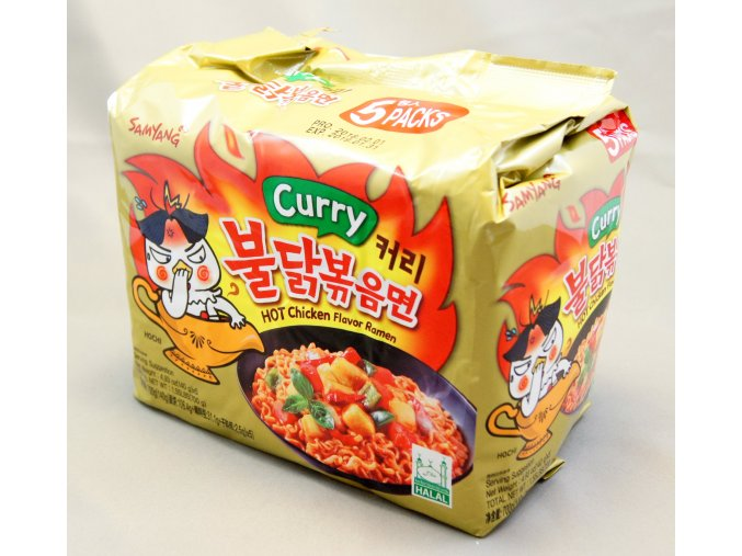 SamYang Curry Hot Chicken Ramen 5p